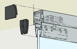 Ferrements pour portes coulissantes EKU-PORTA 100 GU