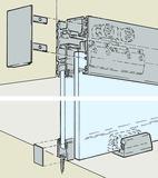 Ferrements pour portes coulissantes EKU-PORTA 100 GF