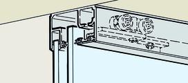 Ferrements pour portes coulissantes EKU-PORTA 100 GW / GWF
