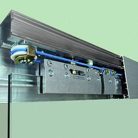 Ferrements pour portes coulissantes EKU-PORTA 100 G/GF/GFO/GW/GWF-SYNCHRO