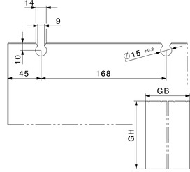 Ferrements pour portes coulissantes HAWA-Junior 80/GL