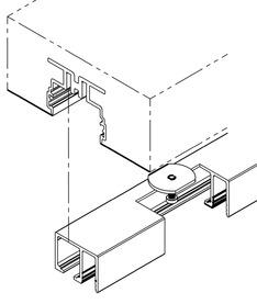 Kit di montaggio per HAWA-Adapto 80