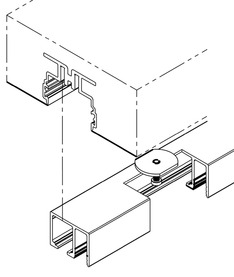 Set de montage pour HAWA-Adapto 80