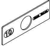 Elementi di fissaggio per vetro