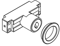 Modulo portacilindro per serratura a catenaccio circolare