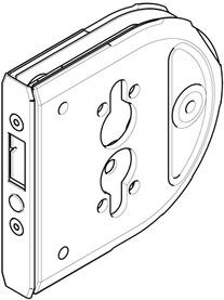 Contro-serratura HAWA-Toplock