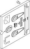 Montage-Bohrlehre HAWA Toplock