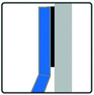 Échelle de soutien inox 2000 mm