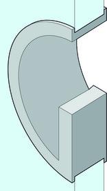 Poignées pour portes coulissantes en verre