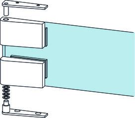 Kit di cerniere d'angolo DORMA