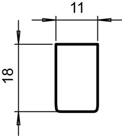 Poignées pour portes coulissantes GRIFFWERK Planeo GS_49011