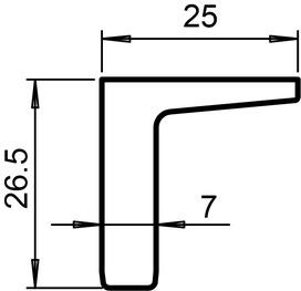 Schiebetürgriffe GRIFFWERK Planeo GS_49012