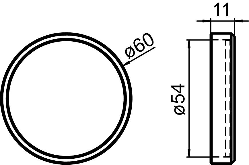 Maniglie per porte scorrevoli GRIFFWERK Planeo GM_49111