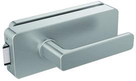 Jeu de ferrements pour portes entièrement en verre Griffwerk GATE