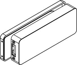 Controcartelle a scatola Griffwerk GATE