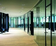 Trennwand System LÄNGLE AL-Office XL auf Mass