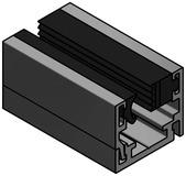 Trennwand System LAENGLE Rahmenprofil G-W