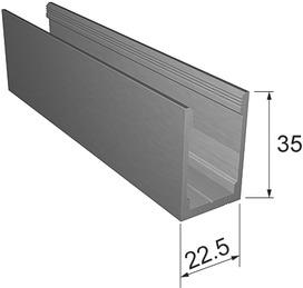 Profilo-basso-parete Portavant 60/120