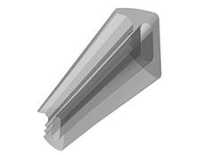 Nastro silicon trasparente