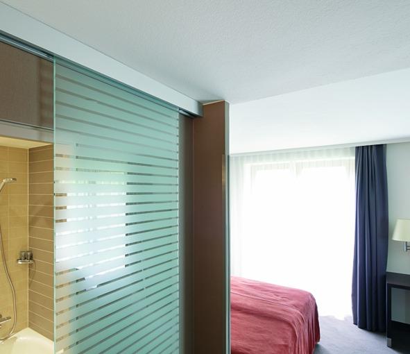 Ferrements pour portes coulissantes VITRIS Portavant 80 automatic, montage au plafond