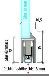 Türabsenkdichtungen PLANET KG-D10