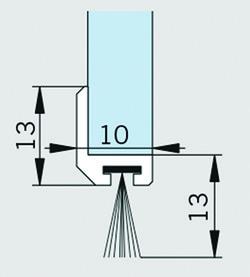 Profili a spazzola AGILE 50/150