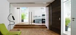 Ferrements d'angle pour installations entièrement en verre DORMA Universal