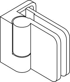 Cerniere per porte di cabine doccia GRAL BH 200