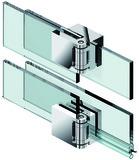 Charnières pour portes de douche PAULI+SOHN FLUTURE
