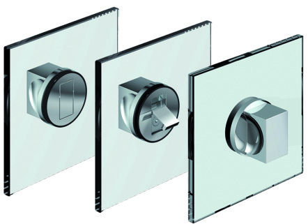 Maniglie per porte in vetro PAULI+SOHN