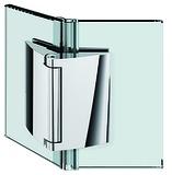 Charnières pour portes de douche PAULI+SOHN PAPILLON