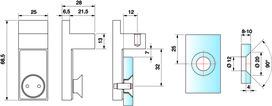Kit di fissaggio per aste stabilizzatrici PAULI+SOHN