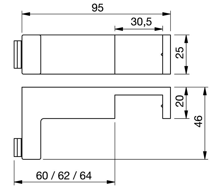 Türanschlagpuffer mit Überdrückungsschutz 8491 PAULI+SOHN
