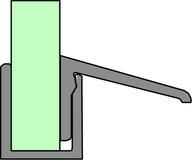 Deflettore d'acqua per Aquant 40