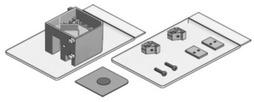 Kit di accessori per elemento angolare VITRIS Aquant 40