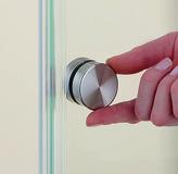 Poignées pour portes en verre Vitris Aquant 40