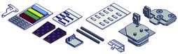 Kit di accessori per il montaggio VITRIS Aquant 40