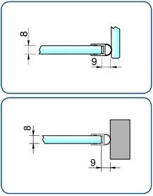 Profili di tenuta box doccia PAULI+SOHN