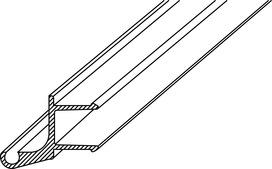Profili di battuta GRAL PROVITRIS per guarnizioni