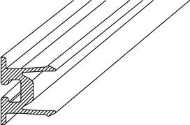 Profili di tenuta DORMA PROVITRIS per guarnizioni cave in gomma