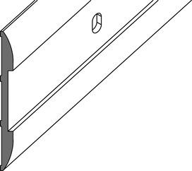 Profili di copertura per pareti GRAL