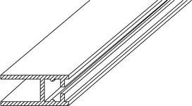 Sistema di profili di collegamento a pareti GRAL