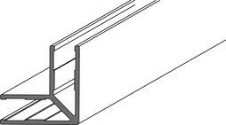 Profil d'angle 90° GRAL