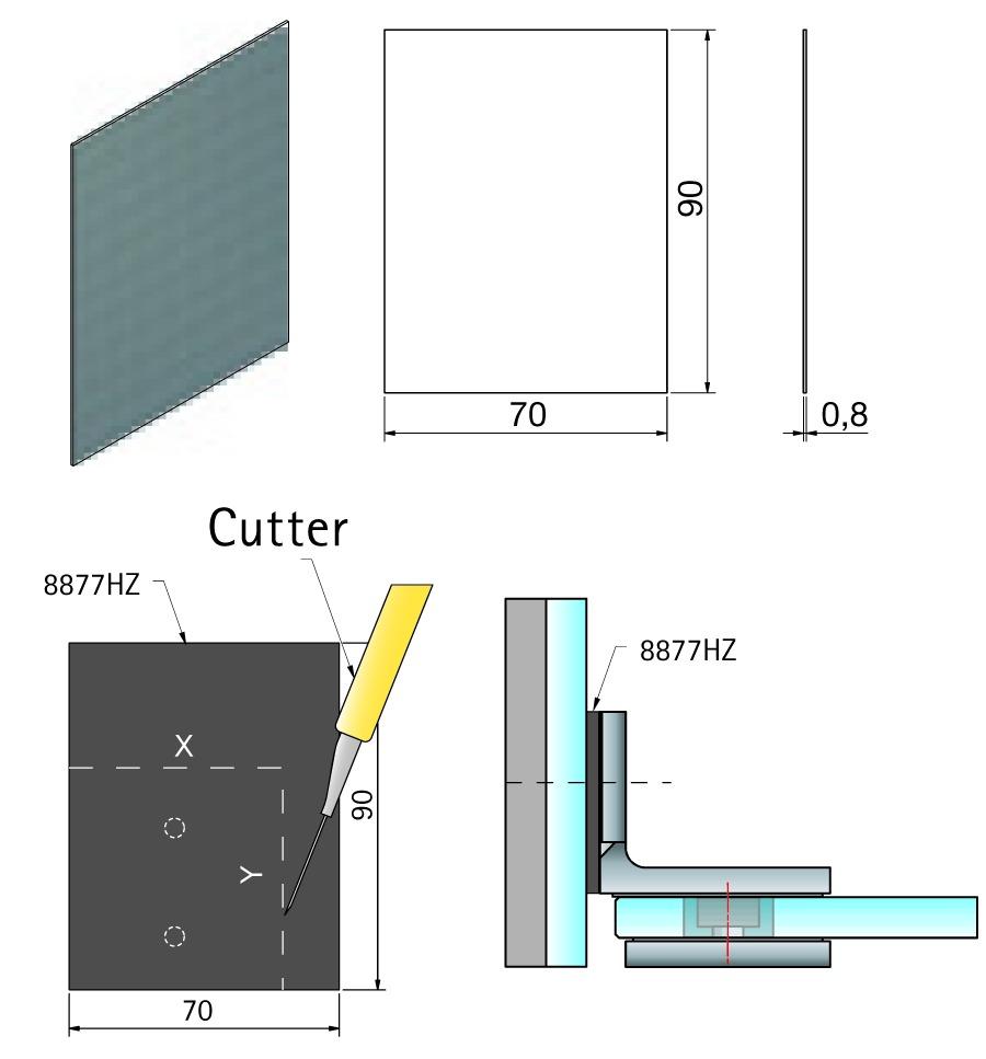 Hartzellzwischenlagen für Glasplatten PAULI+SOHN