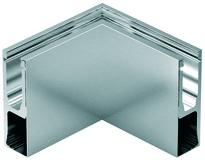 Kit d'angolo interno per profilo di ringhiera tutto vetro cp-1402 PAULI+SOHN