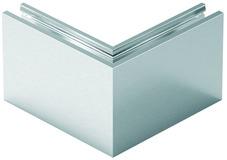 Kit d'angolo esterno per profilo di ringhiera tutto vetro cp-1402 PAULI+SOHN