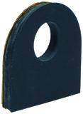 Cale caoutchouc pour pinces pour le verre type 1193