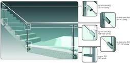 Sistemi di fissaggio per vetro cp-mini