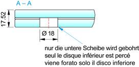 Profil mural pour avant-toit PAULI+SOHN VD 1510