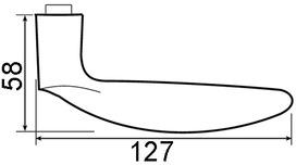 Garnitures de poignées de porte JATEC Padua
